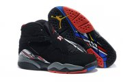 Wholesale Cheap Womens Air Jordan 8 Playoffs 2013 release Black/Red-White-Blue