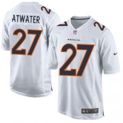 Wholesale Cheap Nike Broncos #27 Steve Atwater White Men's Stitched NFL Game Event Jersey