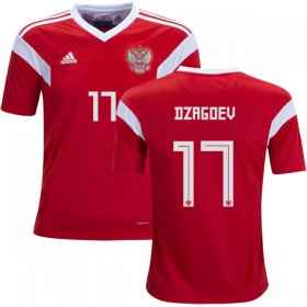 Wholesale Cheap Russia #17 Dzagoev Home Kid Soccer Country Jersey