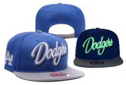 Wholesale Cheap MLB Los Angeles Dodgers Adjustable Snapback Hat YD16062716