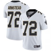 Wholesale Cheap Nike Saints #72 Terron Armstead White Youth Stitched NFL Vapor Untouchable Limited Jersey