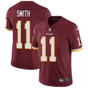 Wholesale Cheap Nike Redskins #11 Alex Smith Burgundy Red Team Color Youth Stitched NFL Vapor Untouchable Limited Jersey