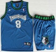 Wholesale Cheap Minnesota Timberwolves #8 Latrell Sprewell Blue Swingman Jerseys Short Suits
