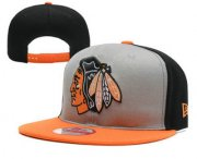 Wholesale Cheap Chicago Blackhawks Snapback Ajustable Cap Hat YD 2