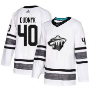 Wholesale Cheap Adidas Wild #40 Devan Dubnyk White Authentic 2019 All-Star Stitched Youth NHL Jersey