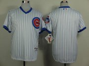 Wholesale Cheap Cubs Blank White 1988 Turn Back The Clock Stitched MLB Jersey