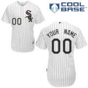 Wholesale Cheap White Sox Personalized Authentic White MLB Jersey (S-3XL)
