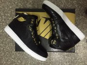 Wholesale Cheap Air Jordan 1 Pinnacle 24K black/Metallic gold-white
