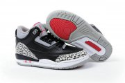 Wholesale Cheap Air Jordan III Kid Countdown pack Black/White