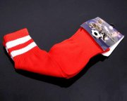 Wholesale Cheap Soccer Football Sock Red