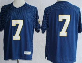 Wholesale Cheap Notre Dame Fighting Irish #7 Stephon Tuitt 2013 Navy Blue Jersey