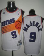Wholesale Cheap Phoenix Suns #9 Dan Majerle White Swingman Throwback Jersey