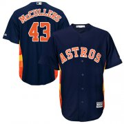 Wholesale Cheap Astros #43 Lance McCullers Navy Blue Cool Base Stitched Youth MLB Jersey