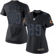 Wholesale Cheap Nike Bears #89 Mike Ditka Black Impact Women's Stitched NFL Limited Jersey