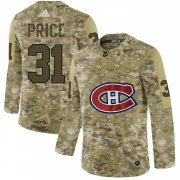 Wholesale Men's Montreal Canadiens Black Rink Warrior T-Shirt