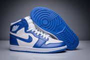 Wholesale Cheap Air Jordan 1 Retro Shoes Blue White
