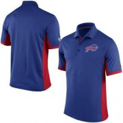 Wholesale Cheap Men's Nike NFL Buffalo Bills Royal Team Issue Performance Polo