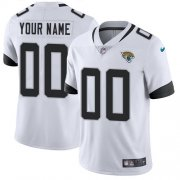 Wholesale Cheap Nike Jacksonville Jaguars Customized White Stitched Vapor Untouchable Limited Youth NFL Jersey