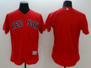 Wholesale Cheap Red Sox Blank Red Flexbase Authentic Collection Stitched MLB Jersey