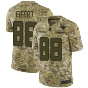 Wholesale Cheap Nike Jaguars #88 Tyler Eifert Camo Youth Stitched NFL Limited 2018 Salute To Service Jersey