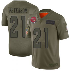 Wholesale Cheap Nike Cardinals #21 Patrick Peterson Camo Men\'s Stitched NFL Limited 2019 Salute To Service Jersey
