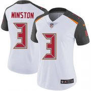 Wholesale Cheap Nike Buccaneers #3 Jameis Winston White Women's Stitched NFL Vapor Untouchable Limited Jersey