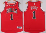Wholesale Cheap Chicago Bulls #1 Derrick Rose Revolution 30 Swingman 2014 New Red Jersey