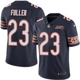 Wholesale Cheap Nike Bears #23 Kyle Fuller Navy Blue Team Color Men\'s 100th Season Stitched NFL Vapor Untouchable Limited Jersey