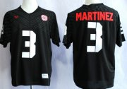 Wholesale Cheap Nebraska Cornhuskers #3 Taylor Martinez 2013 Black Jersey