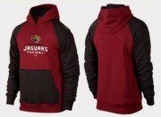 Wholesale Cheap Jacksonville Jaguars Critical Victory Pullover Hoodie Burgundy Red & Black
