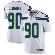 Wholesale Cheap Nike Seahawks #90 Jadeveon Clowney White Men's Stitched NFL Vapor Untouchable Limited Jersey