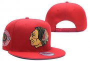 Wholesale Cheap NHL Chicago Blackhawks Stitched Snapback Hats 038