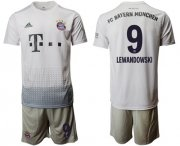 Wholesale Cheap Bayern Munchen #9 Lewandowski Away Soccer Club Jersey