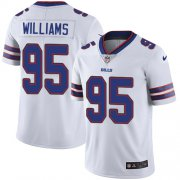 Wholesale Cheap Nike Bills #95 Kyle Williams White Youth Stitched NFL Vapor Untouchable Limited Jersey
