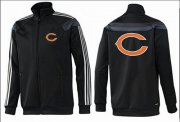 Wholesale NFL Chicago Bears Team Logo Jacket Black_2