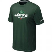 Wholesale Cheap Nike New York Jets Big & Tall Critical Victory NFL T-Shirt Dark Green