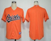 Wholesale Cheap Orioles Blank Orange Cool Base Stitched MLB Jersey