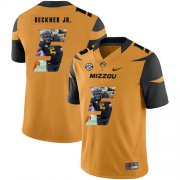 Wholesale Cheap Missouri Tigers 5 Terry Beckner Jr. Gold Nike Fashion College Football Jersey