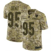 Wholesale Cheap Nike Bears #95 Richard Dent Camo Men's Stitched NFL Limited 2018 Salute To Service Jersey