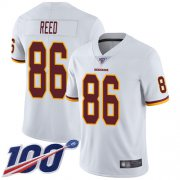 Wholesale Cheap Nike Redskins #86 Jordan Reed White Men's Stitched NFL 100th Season Vapor Limited Jersey