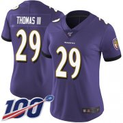 Wholesale Nike Ravens #57 C.J. Mosley Red Women's Stitched NFL Limited AFC 2018 Pro Bowl Jersey