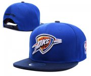 Wholesale Cheap NBA Oklahoma City Thunder Snapback Ajustable Cap Hat XDF 047