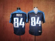 Wholesale Cheap Titans #84 Randy Moss Stitched Dark Blue NFL Jersey