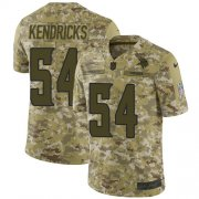 Wholesale Cheap Nike Vikings #54 Eric Kendricks Camo Men's Stitched NFL Limited 2018 Salute To Service Jersey