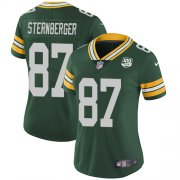 Wholesale Cheap Nike Packers #87 Jace Sternberger Green Team Color Women's 100th Season Stitched NFL Vapor Untouchable Limited Jersey