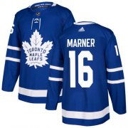 Wholesale Cheap Adidas Maple Leafs #16 Mitchell Marner Blue Home Authentic Stitched Youth NHL Jersey