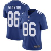 Wholesale Cheap Nike Giants #86 Darius Slayton Royal Blue Team Color Men's Stitched NFL Vapor Untouchable Limited Jersey