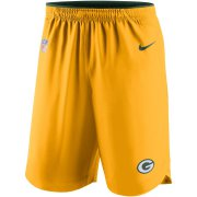 Wholesale Cheap Green Bay Packers Nike Sideline Vapor Performance Shorts Gold