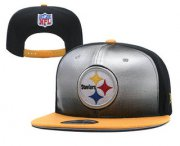 Wholesale Cheap Pittsburgh Steelers Snapback Ajustable Cap Hat YD 2