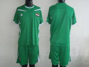 Wholesale Cheap Iraq Blank Green 2011/2012 Soccer Country Jersey